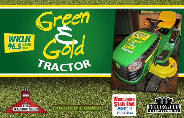 Green & Gold Tractor