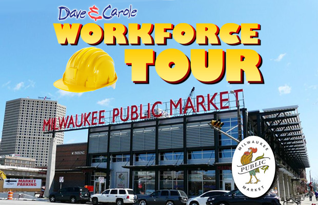 D&C Workforce Tour at Milwaukee Public Market