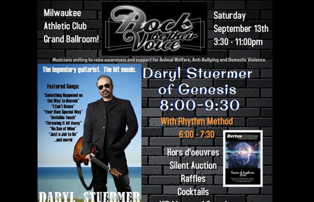 Rock Be Their Voice – featuring Daryl Stuermer of Genesis